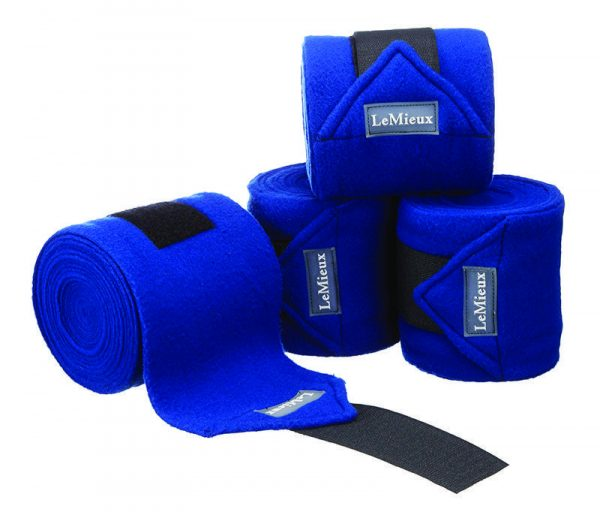 LeMieux Luxury Fleece Polo Bandages - Benetton Blue LeMieux