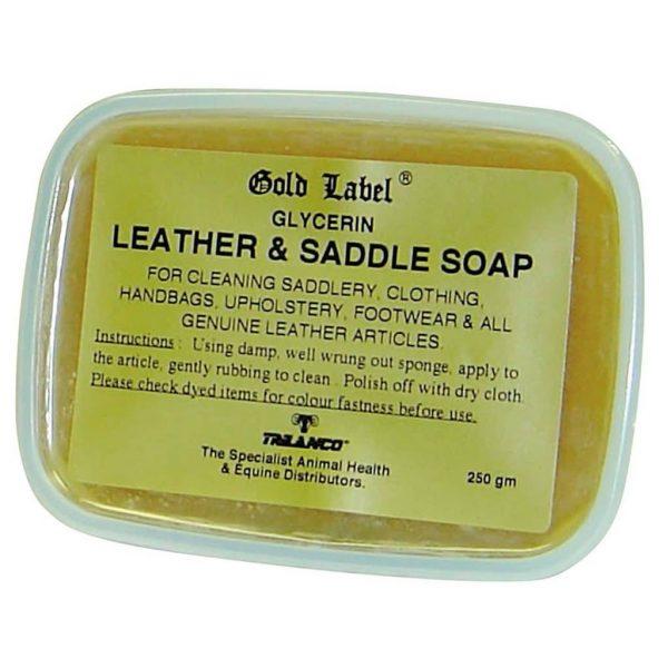 Gold Label Glycerin Leather Saddle Soap Gold Label