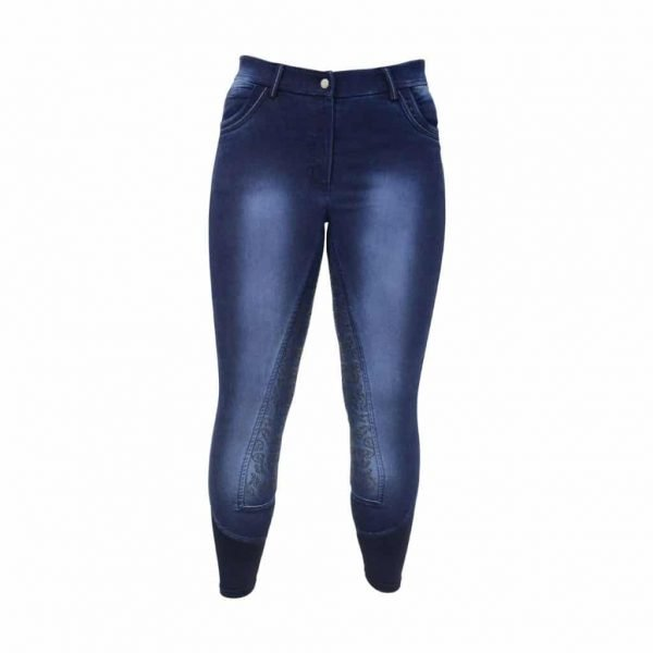 HyPERFORMANCE Cheltenham Denim Look Ladies Breeches HyPERFORMANCE