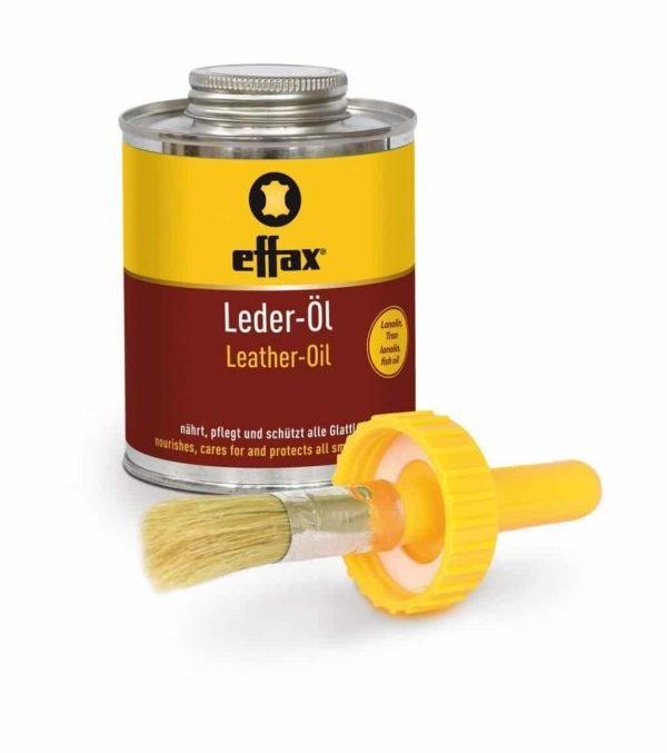 Effax Leather Oil - Tin with Brush Effax