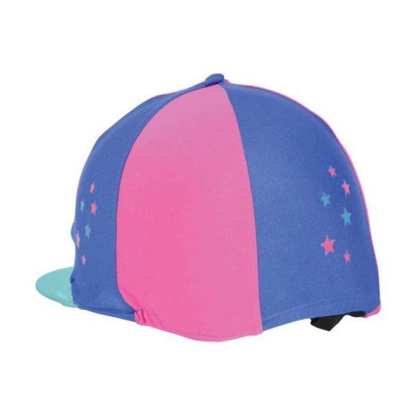Hy Zeddy Three Tone Lycra Hat Silk Hy