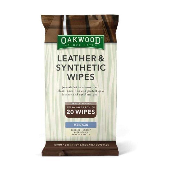 Oakwood Leather and Synthetic Wipes Oakwood