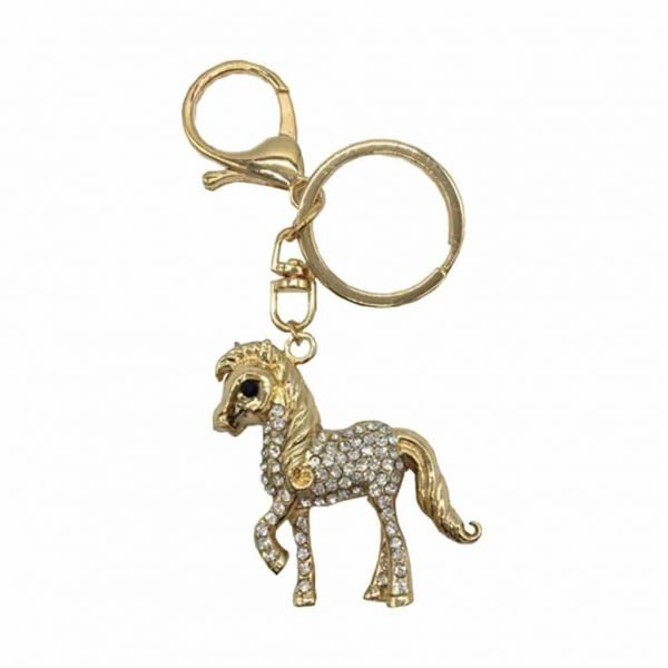 Little Rider Diamante Key Ring Little Rider