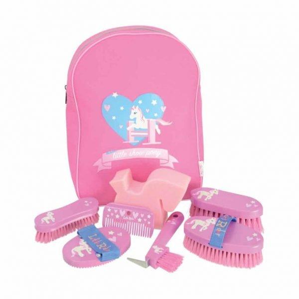 Little Rider Little Show Pony Complete Grooming Kit Rucksack 1