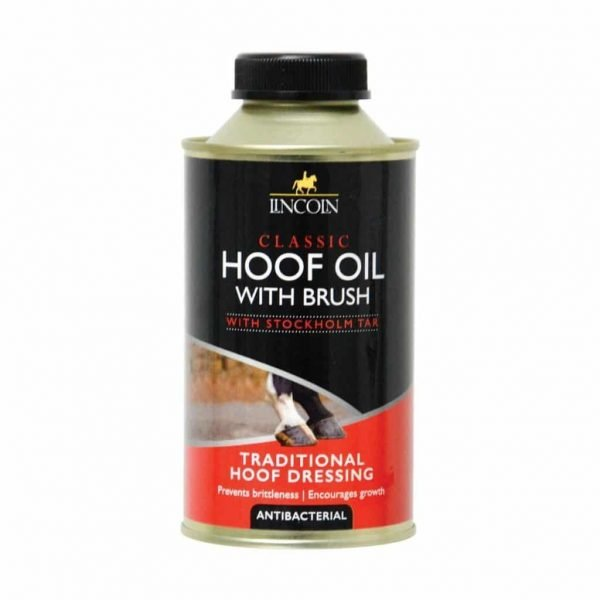 Lincoln Classic Hoof Oil - With Brush Lincoln