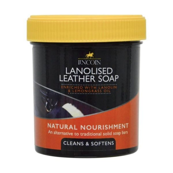 Lincoln Lanolised Leather Soap Lincoln