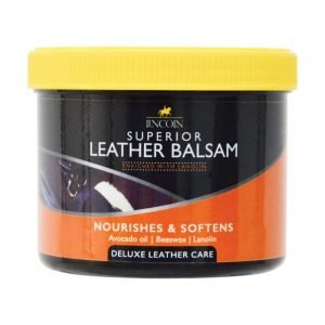 Lincoln Lanolised Leather Soap and Leather Balsam Bundle Lincoln