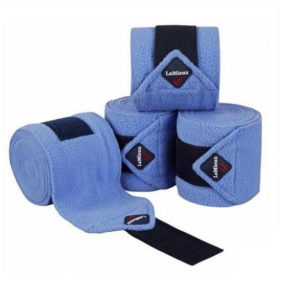 LeMieux Luxury Fleece Polo Bandages - Corn Blue LeMieux