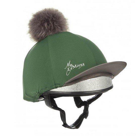 LeMieux Hat Silk - Hunter Green LeMieux