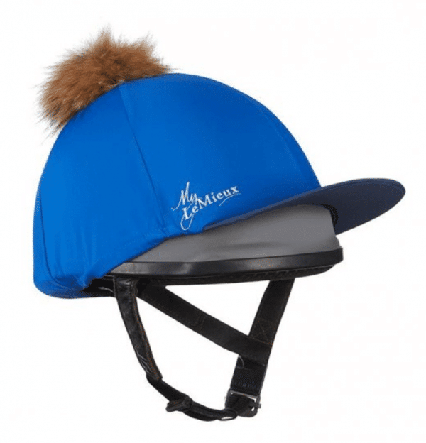 LeMieux Hat Silk - Benetton Blue LeMieux