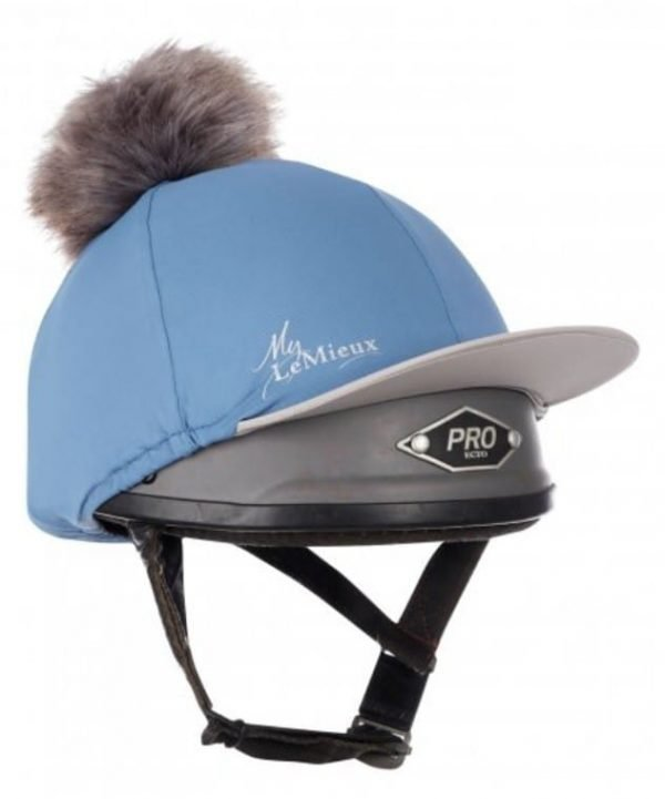 LeMieux Hat Silk - Ice Blue LeMieux