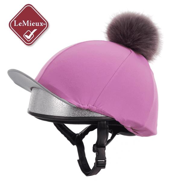 LeMieux Hat Silk - Lavender LeMieux