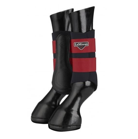LeMieux Grafter Boots - Chilli LeMieux