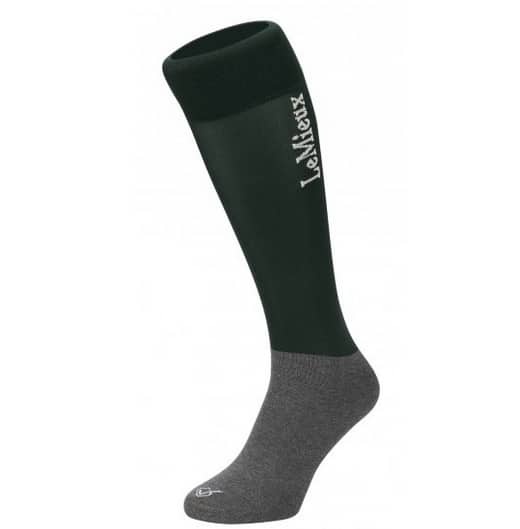 LeMieux Competition Sock Green (Twin Pack) - Green LeMieux