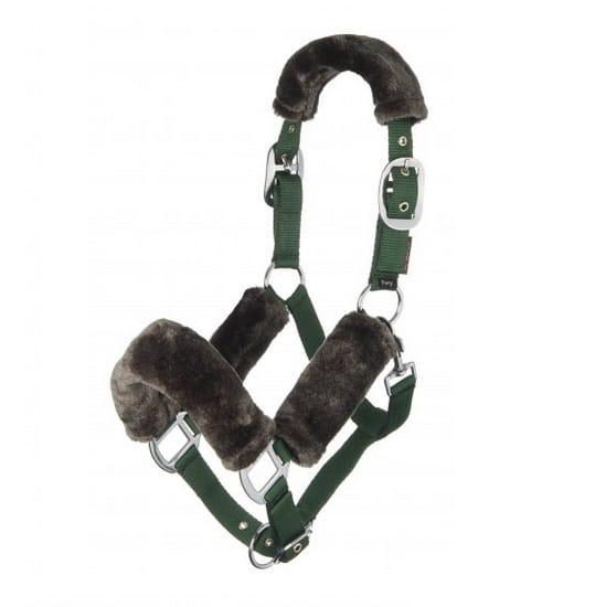 LeMieux Comfort Headcollar - Hunter Green LeMieux