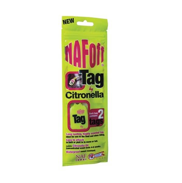 NAF OFF Citronella Tag NAF - Natural Animal Feeds