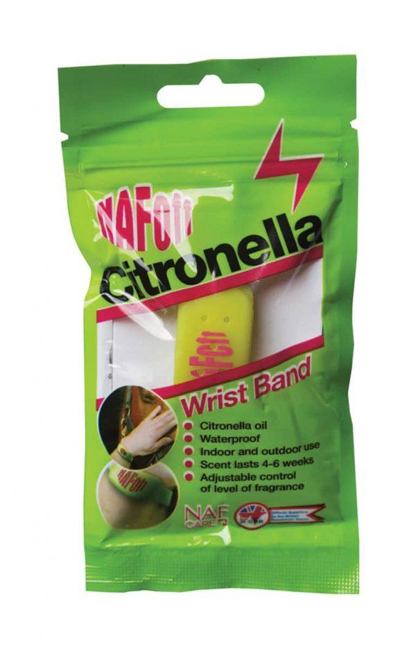 NAF OFF Citronella Wrist Band NAF - Natural Animal Feeds