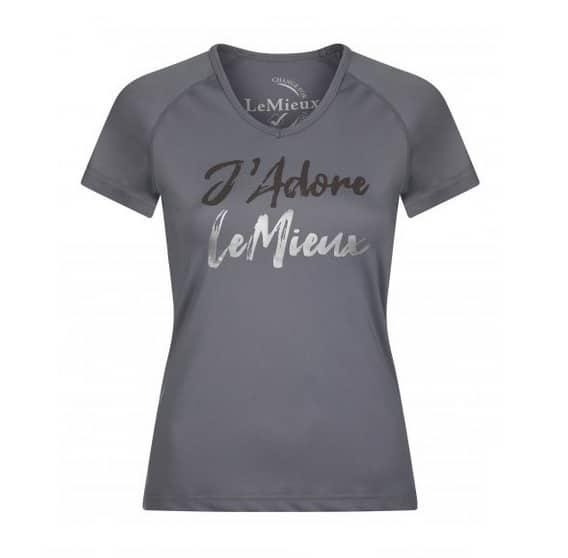 My LeMieux J'Adore T-Shirt - Grey LeMieux