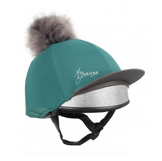 LeMieux Hat Silk - Peacock LeMieux