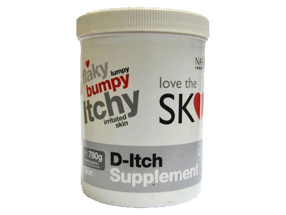 NAF Love The SKIN He's In D-Itch Supplement - Out of date NAF - Natural Animal Feeds