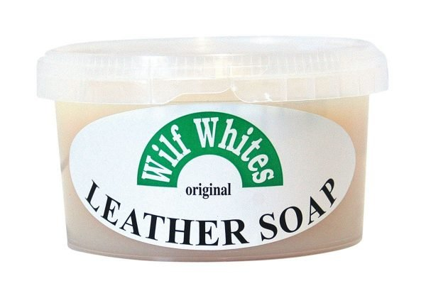 Wilf Whites Original Leather Soap - Damaged Lid Miscellaneous