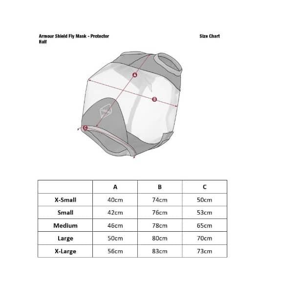 LeMieux Armour Shield Pro Standard Mask (No Ears or Nose) LeMieux