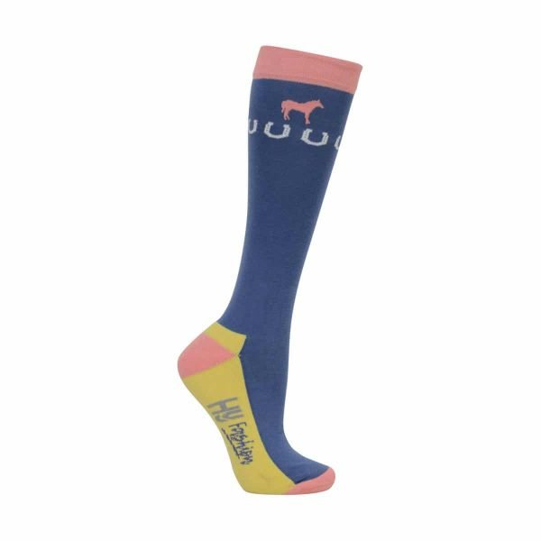 HyFASHION Newmarket Horse Print Socks (Pack 3) HyFASHION