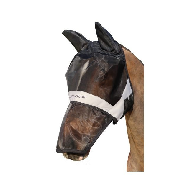 Hy Armoured Protect Full Mask with Ears and Nose Hy Equestrian