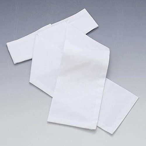 Elico Ready Tied White Cotton Stock Elico