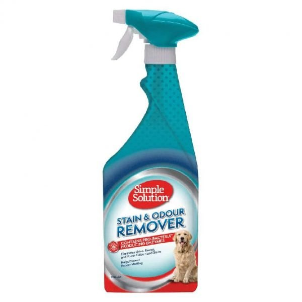 Simple Solution Stain & Odour Remover for Dogs Manna Pro