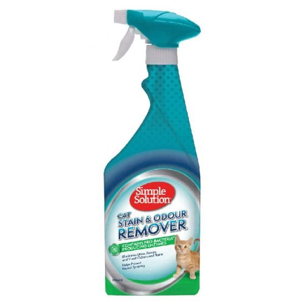 Simple Solution Stain & Odour Remover for Cats Manna Pro