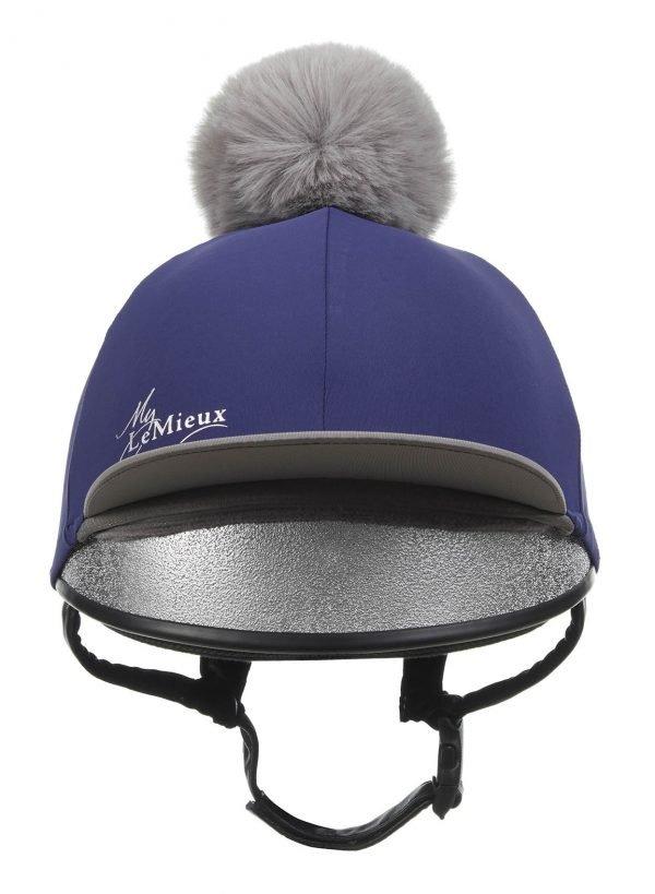 LeMieux Hat Silk - Ink Blue LeMieux