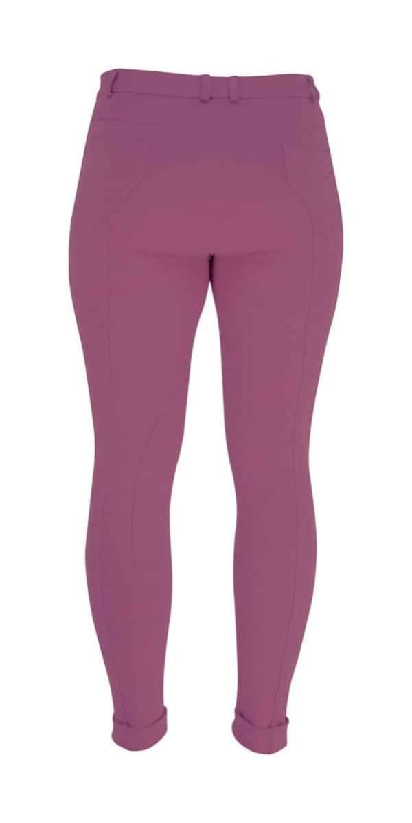 HyPERFORMANCE Melton Ladies Jodhpurs - Fuchsia HyPERFORMANCE