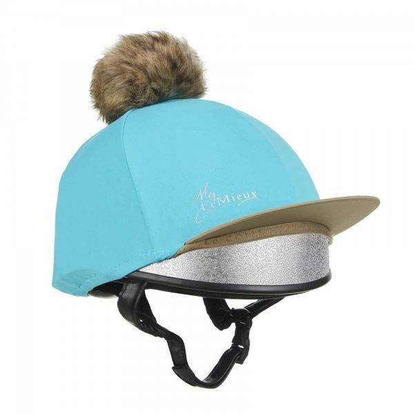 LeMieux Hat Silk - Azure LeMieux
