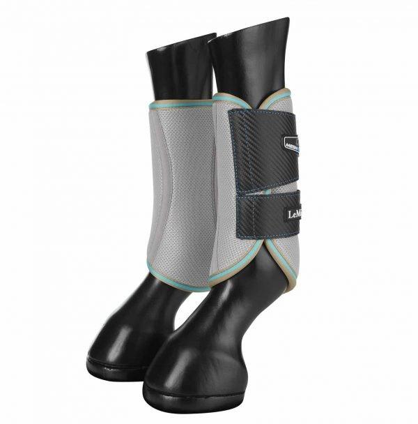 LeMieux Carbon Mesh Wrap Boots - Azure LeMieux