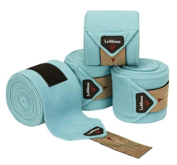 LeMieux Luxury Fleece Polo Bandages - Azure *Pre-Order* LeMieux