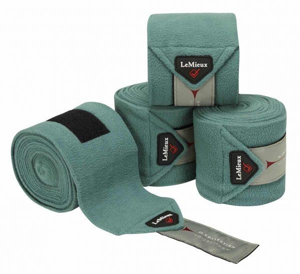 LeMieux Luxury Fleece Polo Bandages - Sage LeMieux