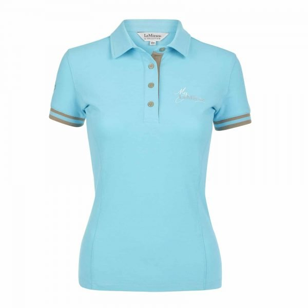 My LeMieux Ladies Polo Shirt - Azure LeMieux