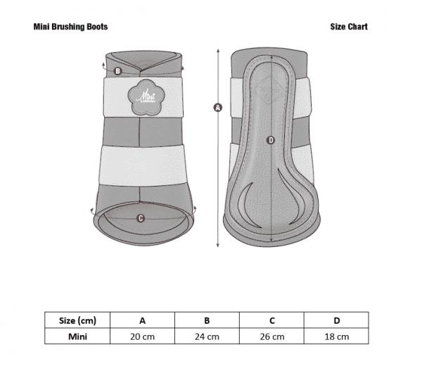 Mini LeMieux Brushing Boot - Azure LeMieux