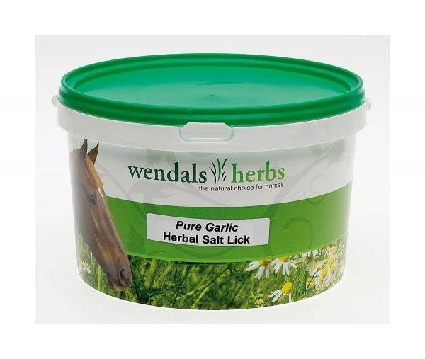 Wendals Pure Garlic Salt Lick Wendals Herbs