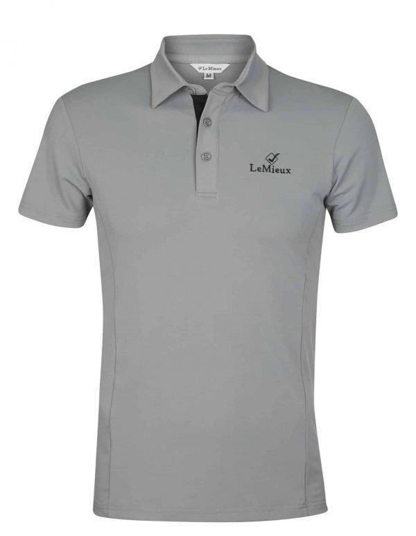 LeMieux Monsieur Polo Shirt - Grey LeMieux