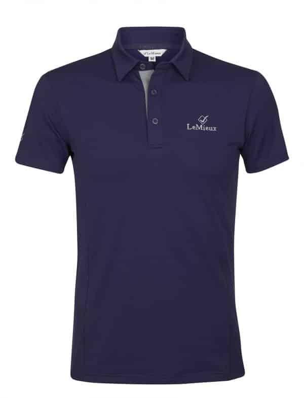 LeMieux Monsieur Polo Shirt - Navy LeMieux