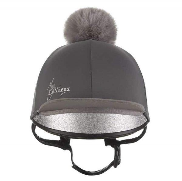LeMieux Hat Silk - Slate Grey LeMieux