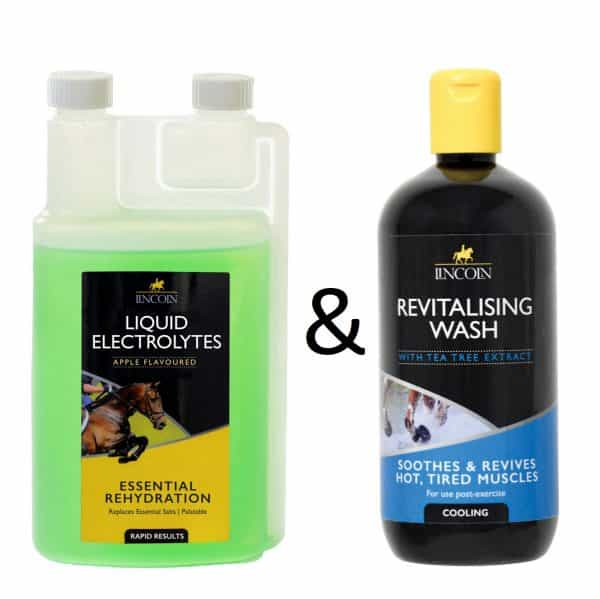 Lincoln Liquid Electrolytes 1ltr & Lincoln Revitalising Wash 500ml Lincoln