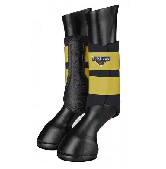 LeMieux Grafter Brushing Boots - Dijon LeMieux