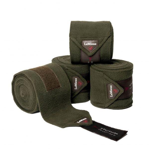 LeMieux Polo Bandages - Oak LeMieux