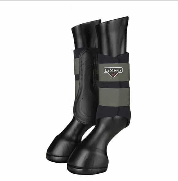 LeMieux Grafter Brushing Boots - Oak LeMieux