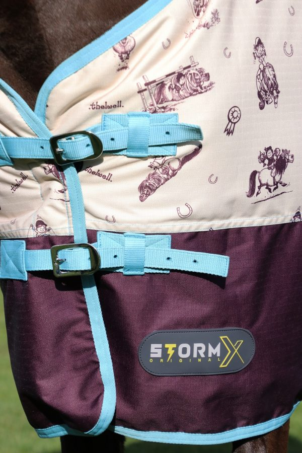 StormX Original 100 Thelwell Collection Country Turnout Rug Hy Equestrian