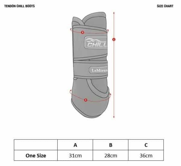 LeMieux Tendon Chill Boots (Pair) LeMieux